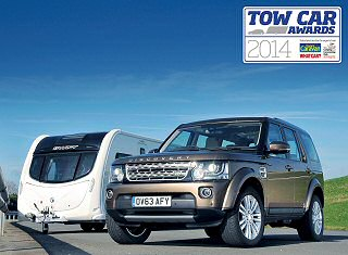 LAND ROVER WINS THE DOUBLE AT THE TOW CAR AWARDS 2014