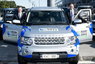 4x4 news press releases offroad land rover jeep suzuki land rover has today signalled the final stage of its preparations for rugby world cup 2011 by handing over a special fleet of vehicles to the tournament in freerunsca Image collections